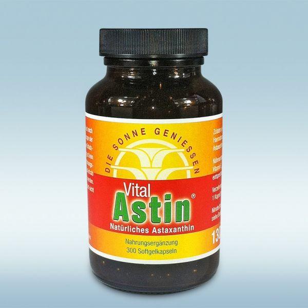VitalAstin 300 Kapseln natürliches Astaxanthin 4 mg – Kathrin S.