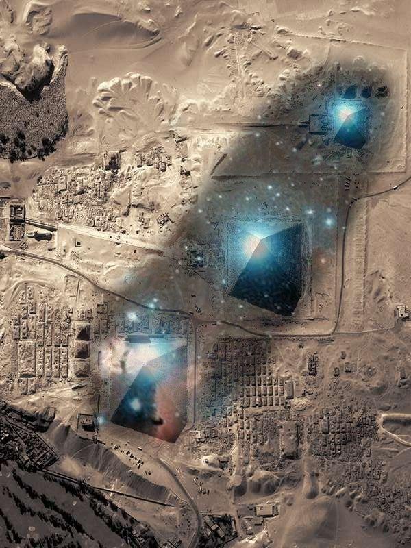 EGIPTO - piramides : estan alineadas con la constelacion de Orion