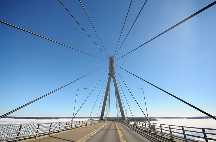 Replot bridge, Vaasa/Finland