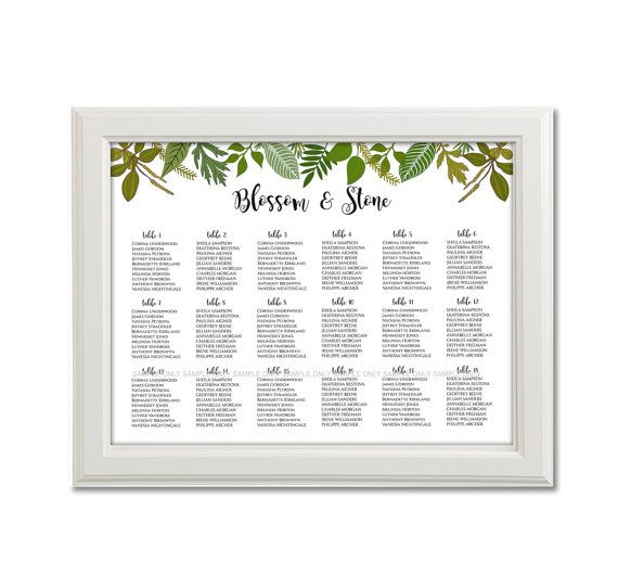 862 best images about wedding ideas on pinterest party for Bridal shower seating chart template