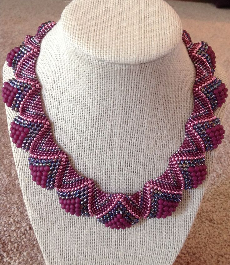Flat Cellini spiral necklace