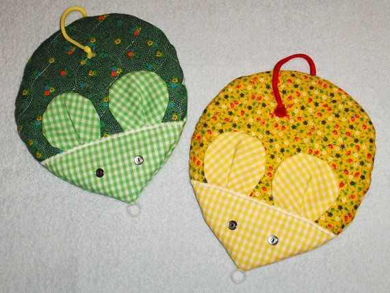 Mouse Pot holder by Mothers Melody