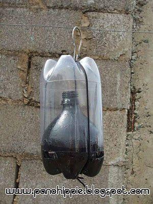 Pano Hippie: Armadilha ecológica para capturar moscas e mosquitos