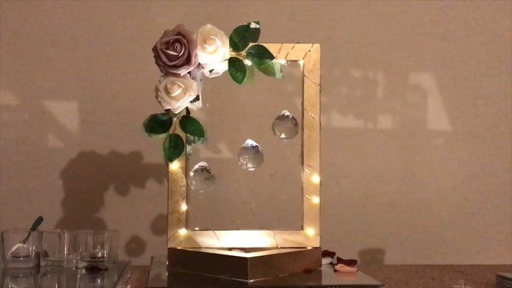 Noozay Decor On Instagram Diy Frame Centerpiece