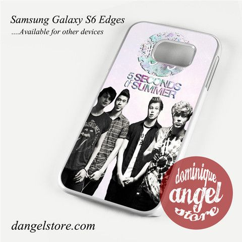 5seconds of summer 5 sos Phone Case for Samsung Galaxy S3/S4/S5/S6/S6 Edge