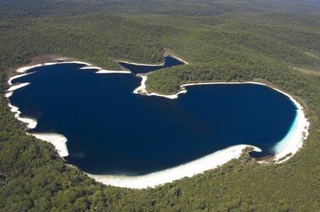 Perched Dune Lakes #fraserisland #queensland #australia www.fraserisland.net