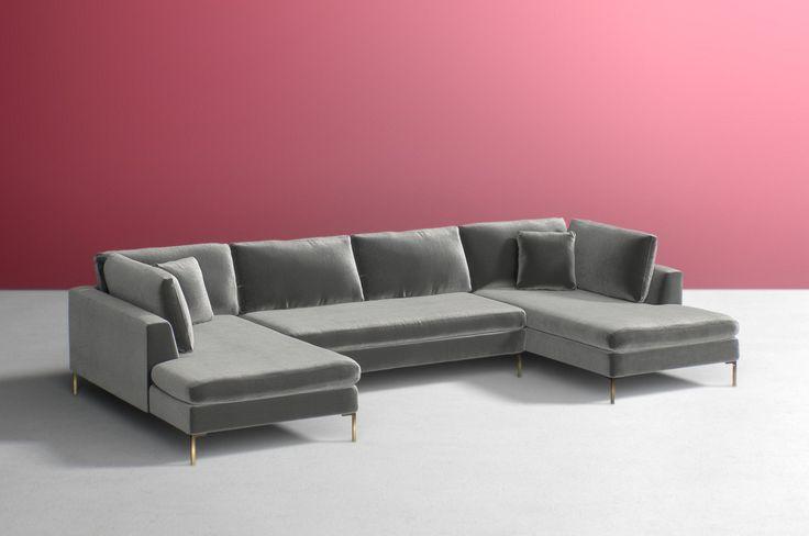103 best Decor- Sofas- Velvet images on Pinterest | Sofas, Canapes ...