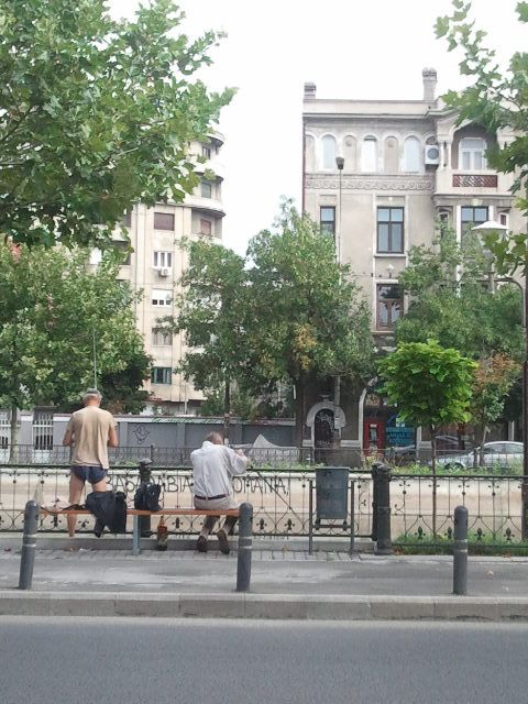 Sunday morning in Bucharest