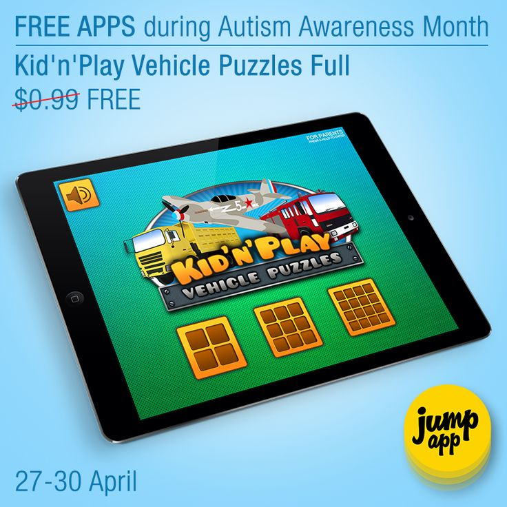 Kin'n'Play Vehicle Puzzles Full #iPad #iPhone #kids #app is #free for a limited time https://itunes.apple.com/us/app/kidnplay-vehicle-puzzles-full/id535447706