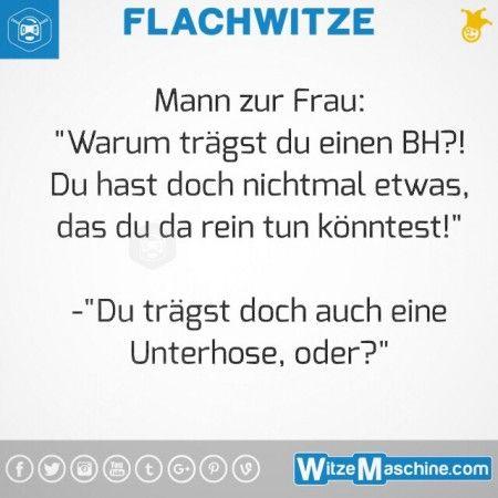 Flachwitze #277 - BH