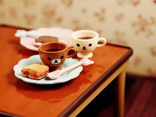rilakkuma cupsRement Miniatures, Kawaii Miniatures, Bears Teas, Teas Time, Rilakkuma Teacups, Rilakkuma Cups, Blancuchi Bears, Kawaii Cups, Kawaii Stuff