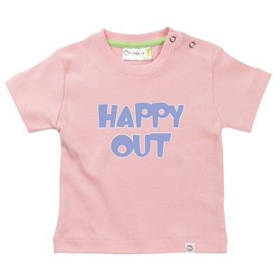 Happy Out Baby T-Shirt by Hairy Baby
