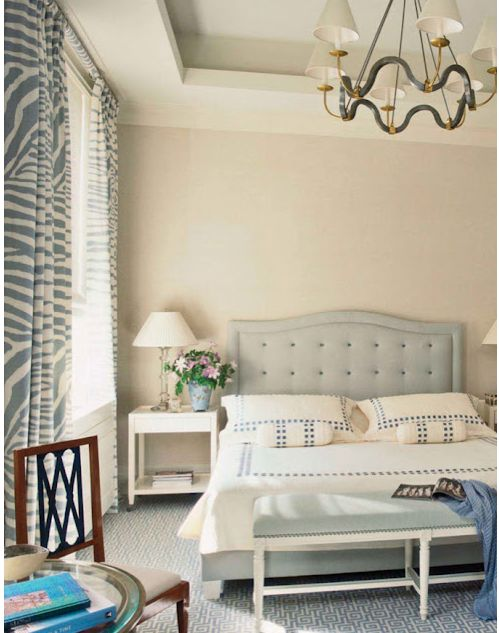 zebra-- annnnd the headboard. Holy cow. I think I need to visit #furbish.