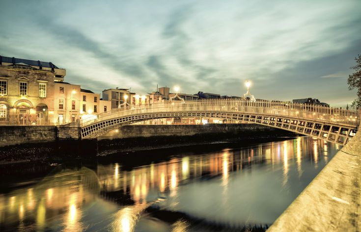 Ha'penny bridge, County Dublin | 33 Spectacular Places In Ireland You Won't Believe Are Real