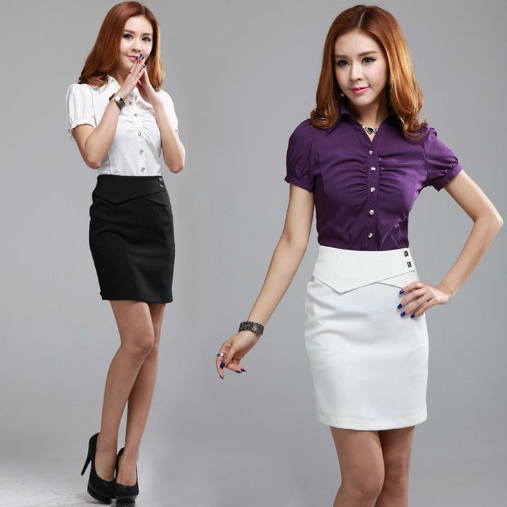 High Waist Short Skirts Career Fashion Rise Shorts