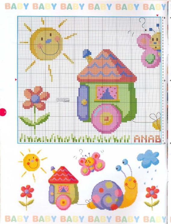 Gallery.ru / Фото #4 - Las Labores de Ana Baby 33 - tymannost