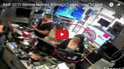 #HeyUnik  Gagal Total, Wanita Ini Tertangkap Basah Curi iPad #Video #YangUnikEmangAsyik