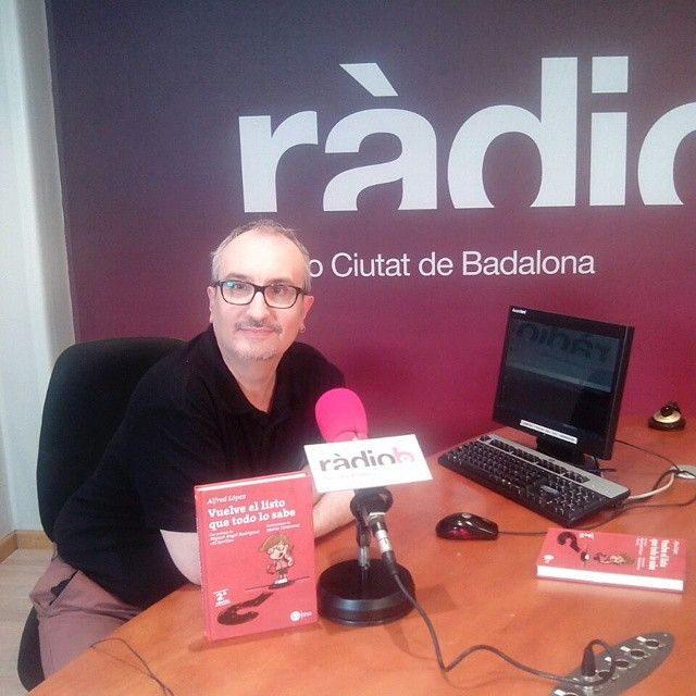 Vuelve el listo que todo lo sabe en Radio Ciutat Badalona