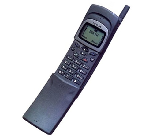 I loved the nokia banana phone keanu used it in the for Matrix mobili