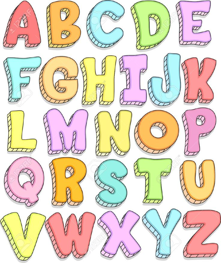 cartoon letters png - Pesquisa Google