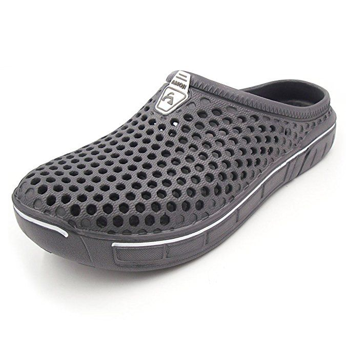 Garden Clogs Comfortable Shower Beach Shoes Breathable Non Slip Indoor Outdoor Slip on Water Sandals Womens Mens