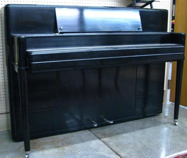 Vintage steinway art deco style upright piano for Piani art deco