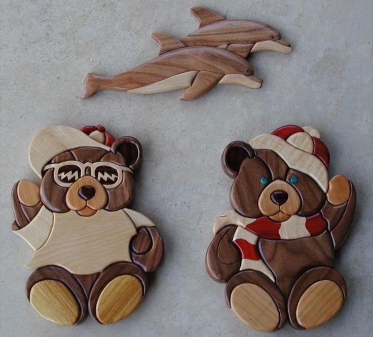 Decorative Combination Wooden Crafts (Intarsia)