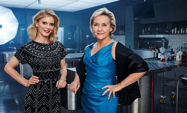 Silent Witness stars Emilia Fox and Amanda Burton meet for the very first time