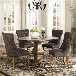 Love The Table... Great For Morning Room. Parkins 5 Piece Round Dining