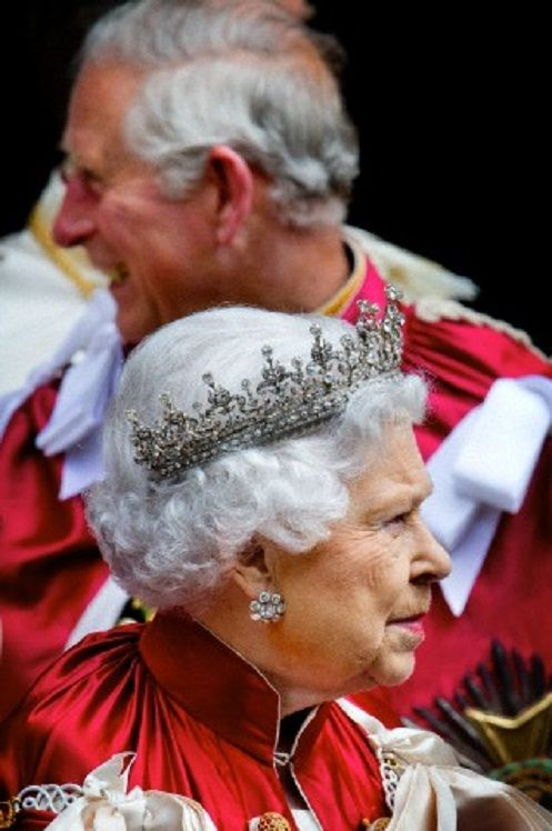 Queen Elizabeth and Prince Charles of the United Kingdom attends the Order of the Bath service at Westminster Abbey in London, United Kingdom, 9 Ma… | United K…