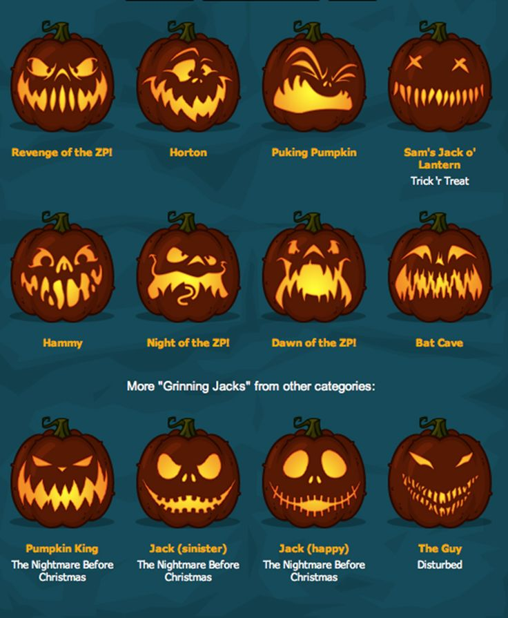 Fab pumpkin faces!