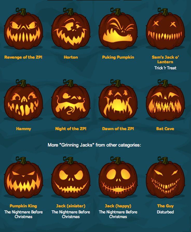 Best halloween pumpkin carvings ideas on pinterest