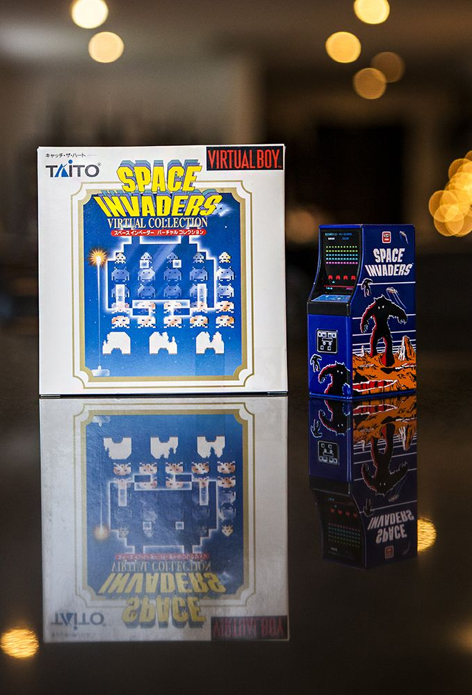 Space Invaders for Virtual Boy complete in box #VirtualBoy #SpaceInvaders #Nintendo #retrogaming #stopXwhispering #Gamecollecting #cib