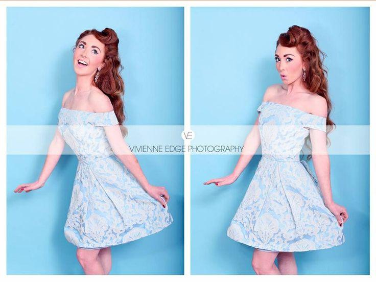 Hannah goodhall on vintage blue