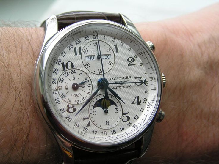 Longines Master Collection Triple Date/Moonphase/Chronograph