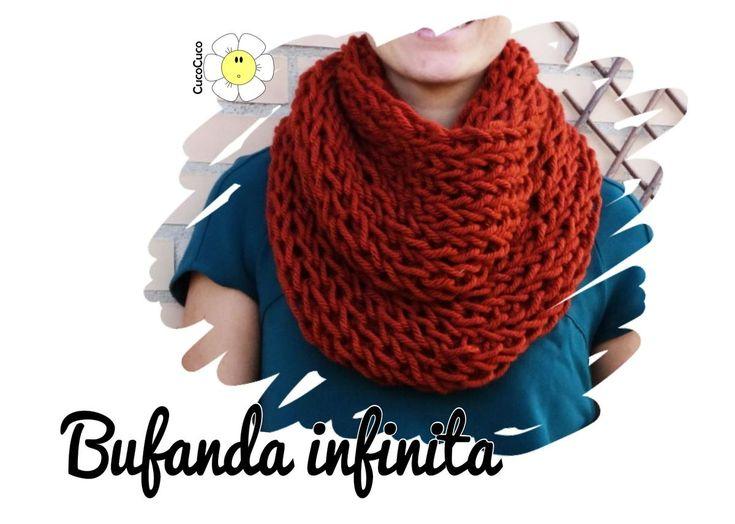 Desde hace unos años se han impuesto las bufandas tipo cuello, mucho más cómodas y calentitas. ¿Quieres aprender a tejer tu propio modelo?