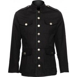 Gothic officers jacket for men by Raven SDL