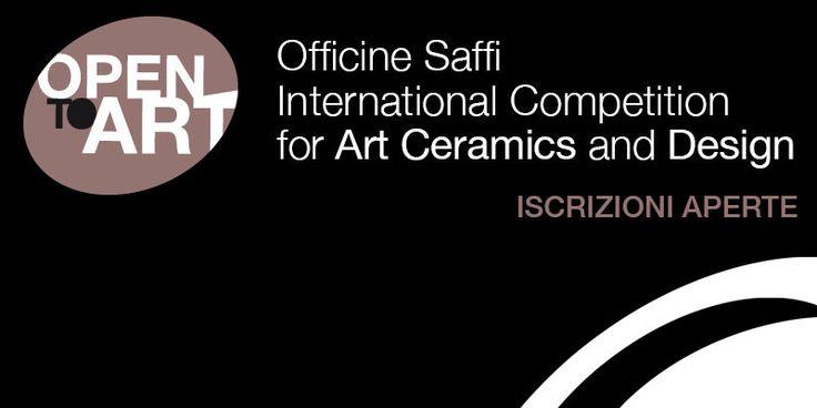 Open to Art è un concorso aperto ad artisti di ogni età, senza vincoli tematici, che promuove l'uso della ceramica nell'arte contemporanea, nel design e... http://www.tripartadvisor.it/open-to-art-concorso-ceramica/