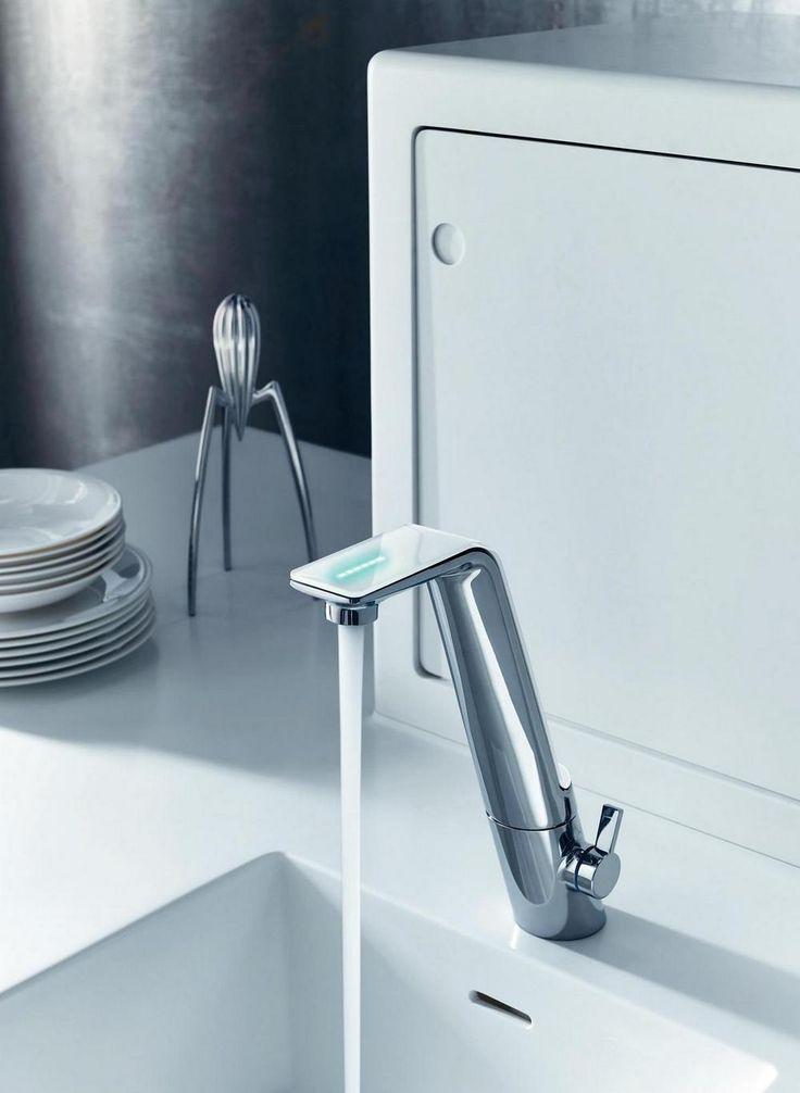 Modern sensor kitchen tap Oras Alessi Sense