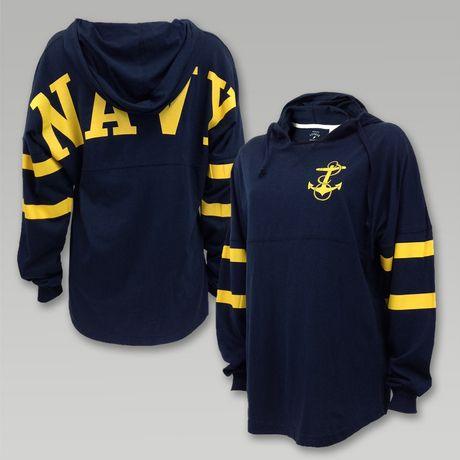 Navy Ra Ra Hoody