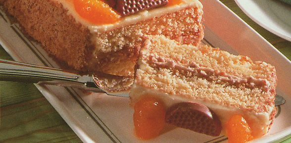 Mandarin and Crisp Gateau
