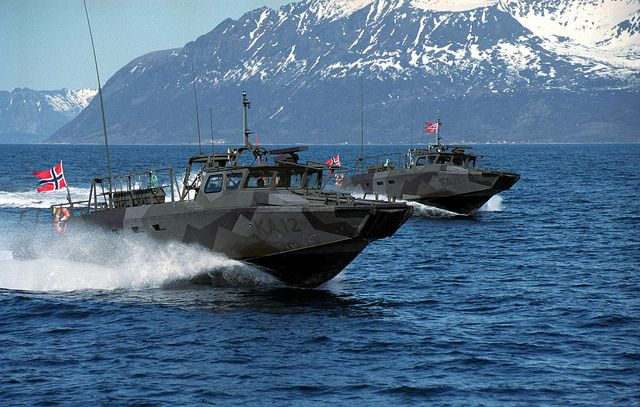 Norwegian Combat Boats. Military warmachines. Army/navy/airforce/marines