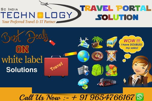 Special discount !! Get Your Agency Online Today with Our Whitelabel Solution. more detail visit now - http://www.travelportalsolution.com
