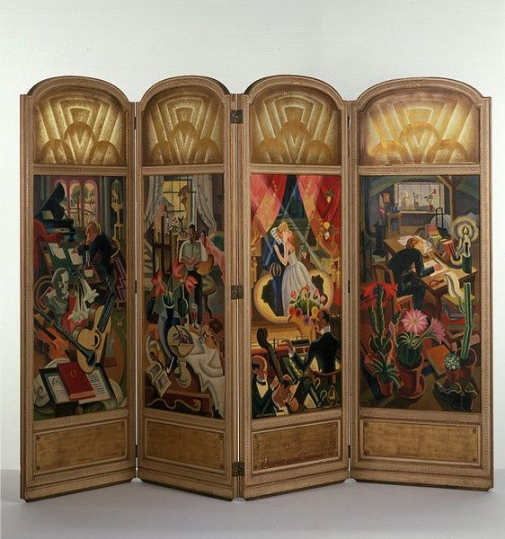 17 best images about vintage folding screens on pinterest louis xvi martin o 39 malley and. Black Bedroom Furniture Sets. Home Design Ideas