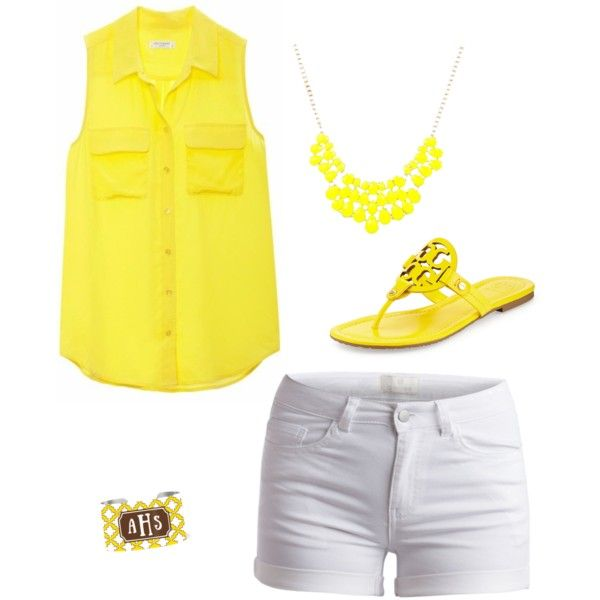 A fashion look from June 2015 by rah8626 featuring Equipment, Pieces y Tory Burch