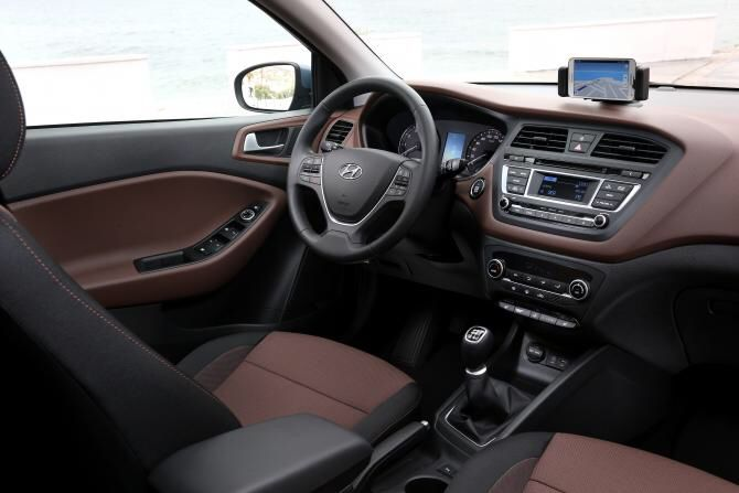 Hyundai i20 premium se interior in cappuccino available for Interieur hyundai i20