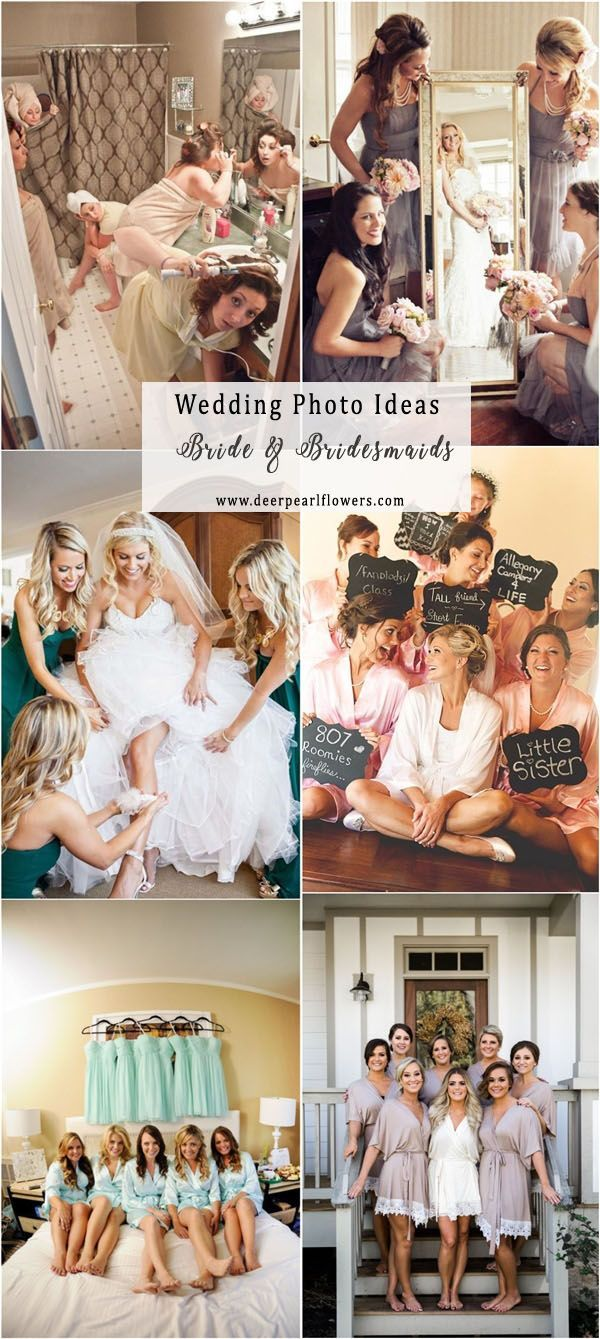 Bride and bridesmaids wedding photo ideas  #weddingideas #weddingphotos #wedding / http://www.deerpearlflowers.com/wedding-photo-ideas-and-poses/
