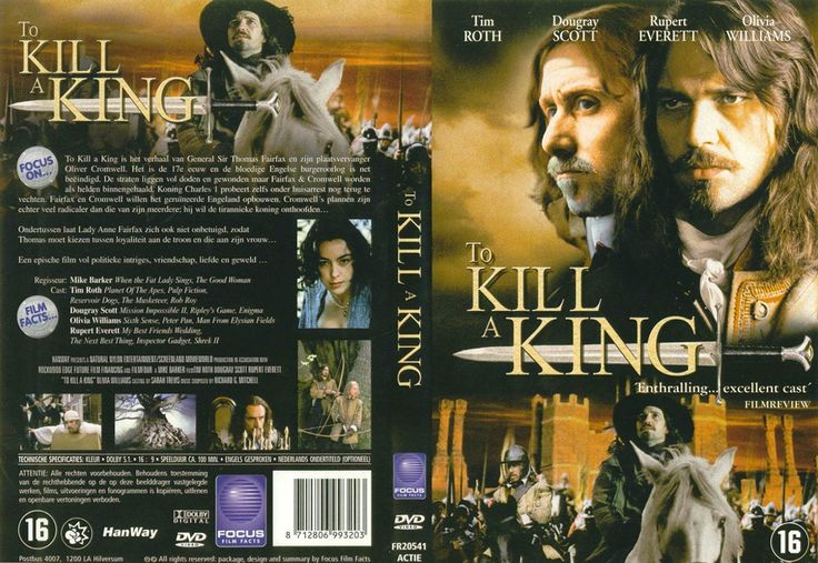 To Kill A King. (2003) Starring: Tim Roth as MP / Lord Protector Oliver Cromwell, Dougray Scott as Sir Thomas Fairfax, Olivia Williams as Lady Anne Fairfax, and Rupert Everett - King Charles I. (click thru for high res.)
