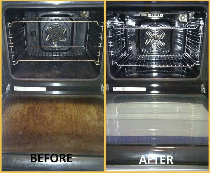 The easiest way to clean your oven EVER!