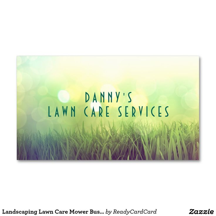 Best Free Business Card Images On Pinterest Business Card - Lawn care business cards templates free